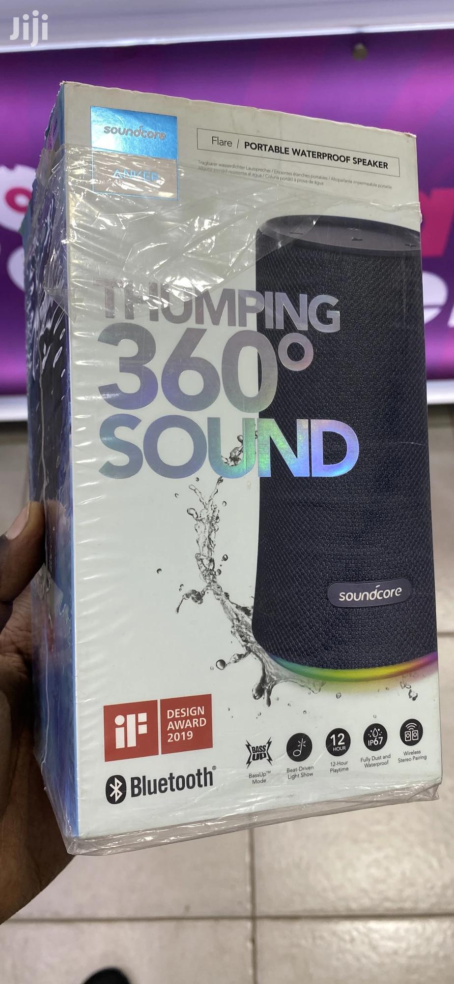 Anker Soundcore Waterproof Thumping Bass Bluetooth Speaker | Audio & Music Equipment for sale in Kampala, Central Region, Uganda