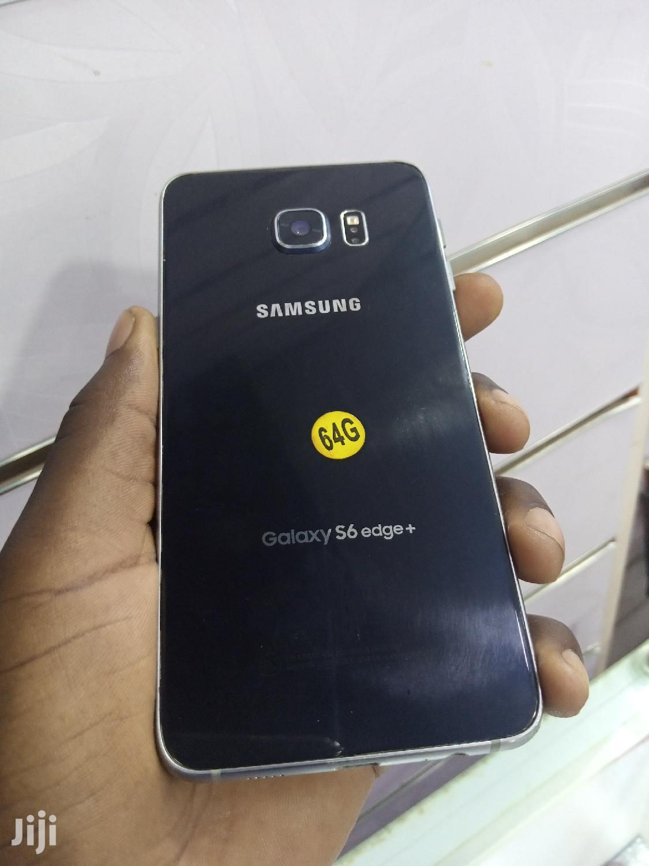 Samsung Galaxy S6 Edge Plus 32 GB Black | Mobile Phones for sale in Kampala, Central Region, Uganda