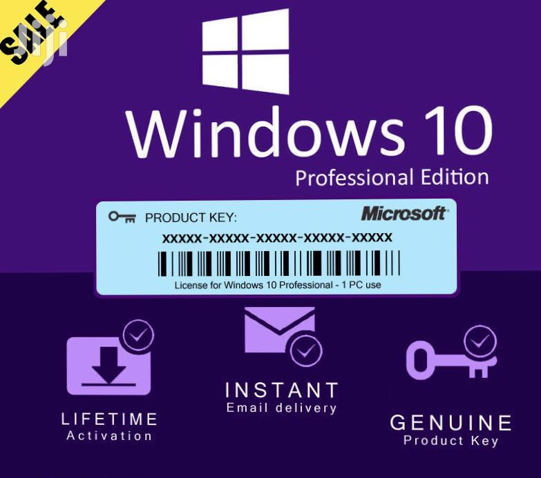 Archive: Genuine Windows 10 Pro Product Keys