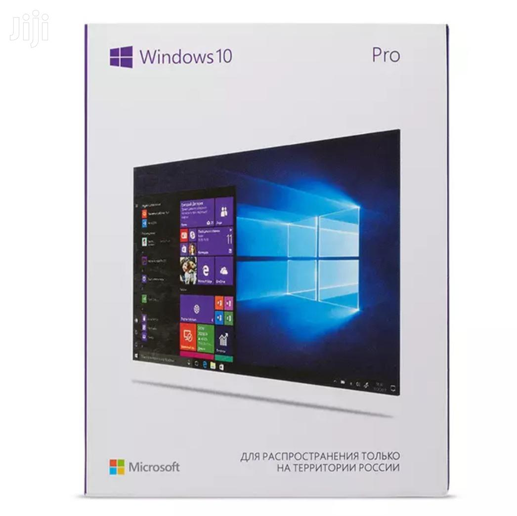 Windows 10 Pro OEM Digital Key Stickers | Software for sale in Kampala, Central Region, Uganda