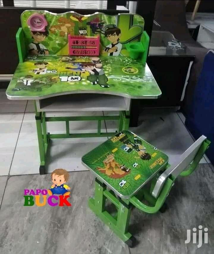 Kids Learning Table And Chair