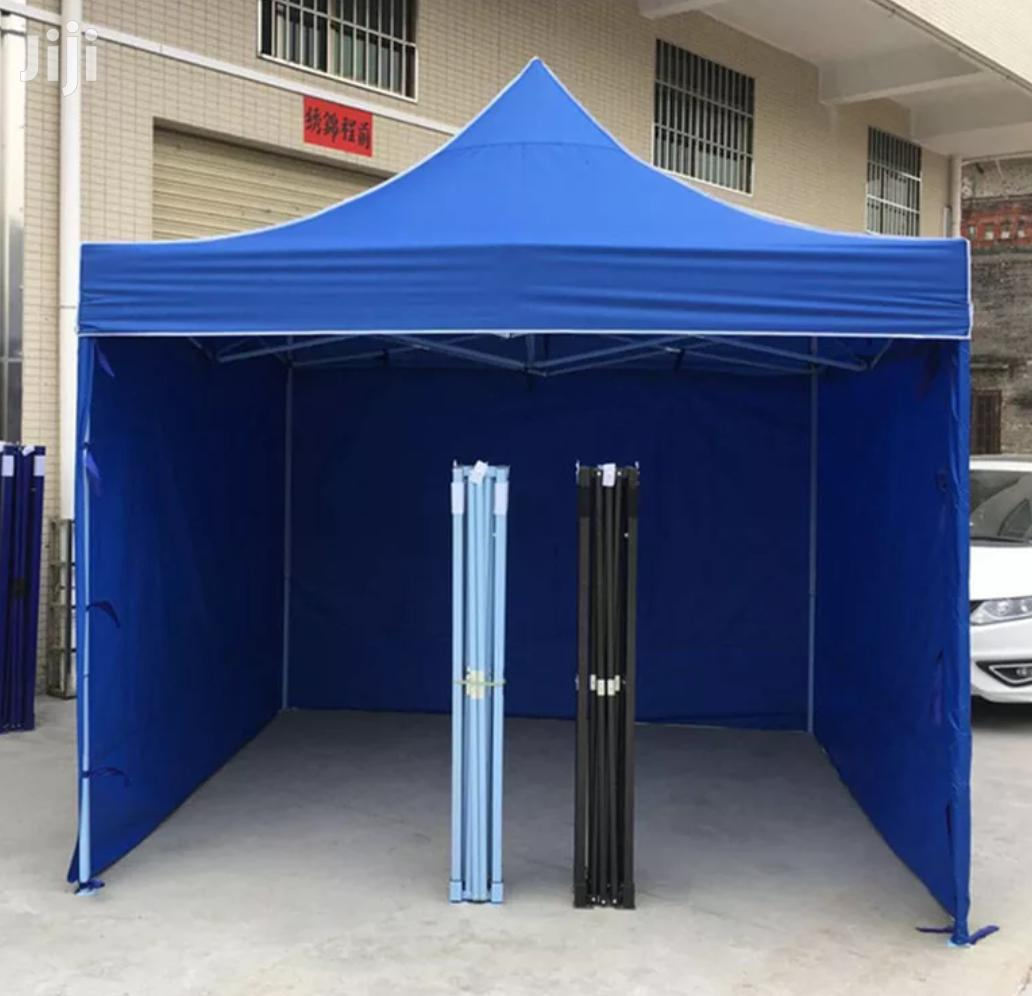 Exhibition PVC Water Proof Camping Tents (Full Set)Blue Only