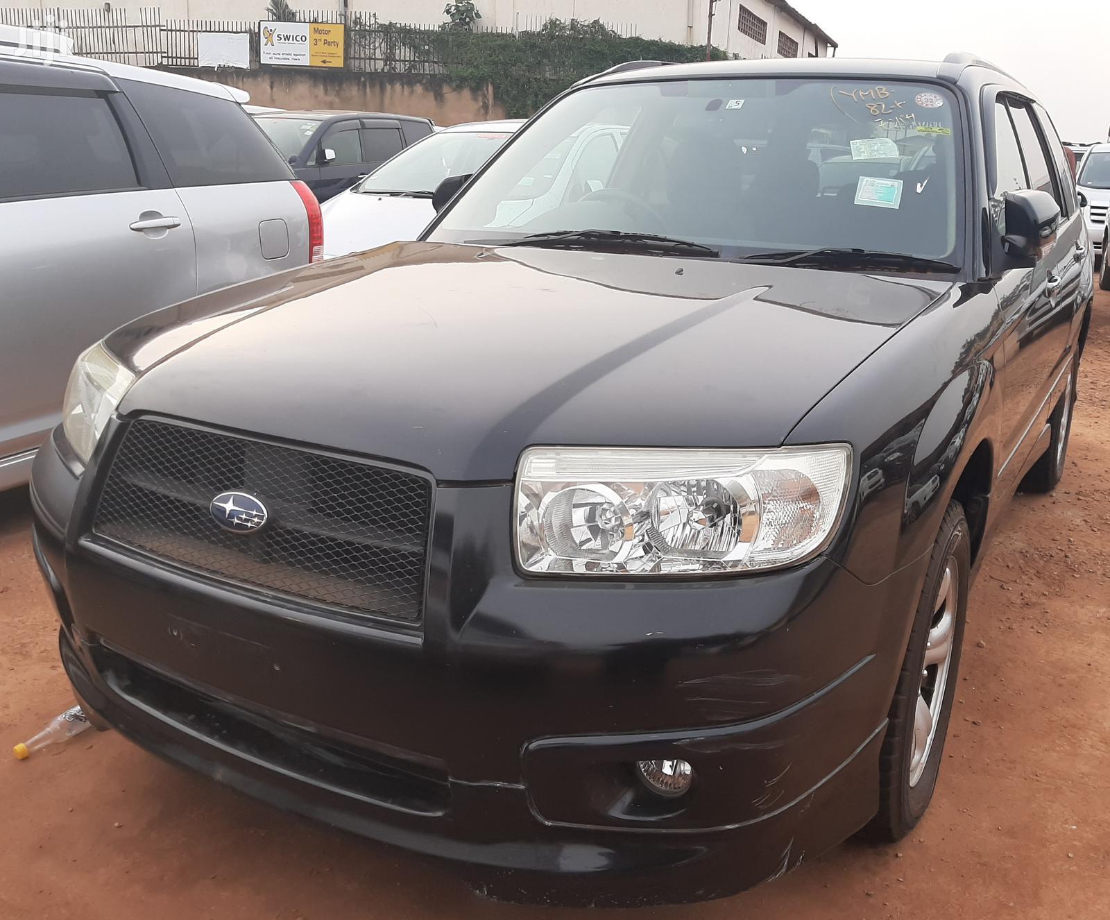 Archive: Subaru Forester 2007 Black