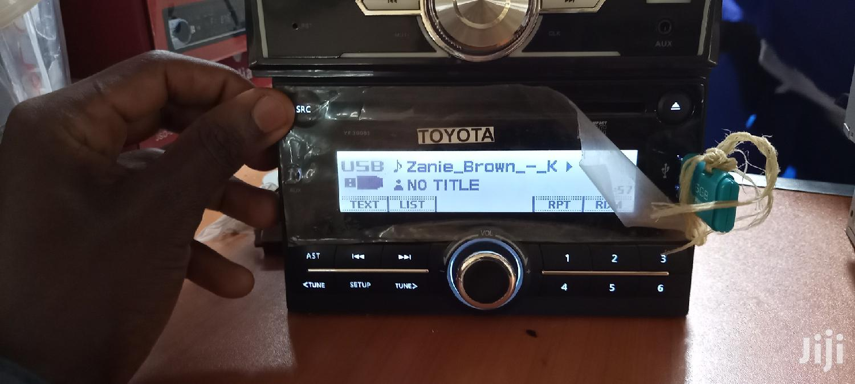 Toyota Usb Radio