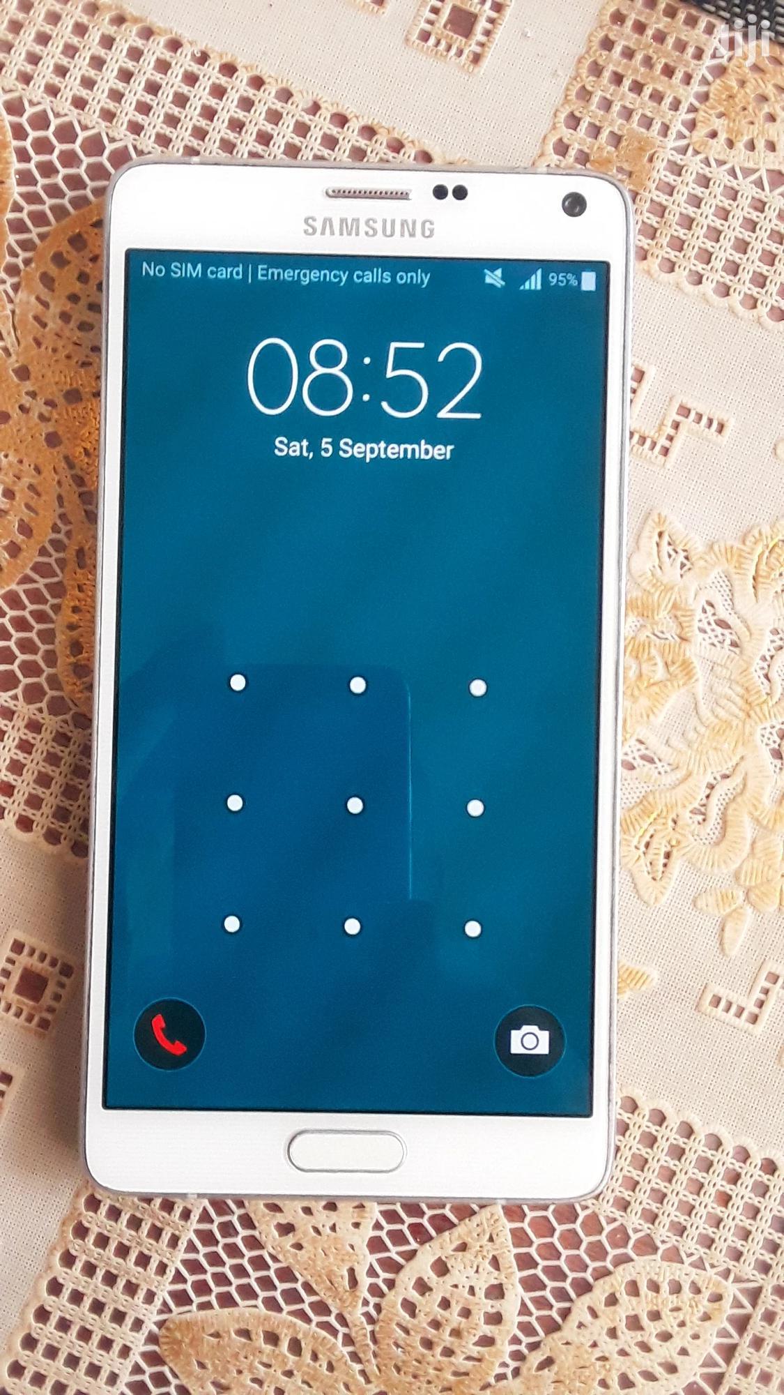 Samsung Galaxy Note 4 32 GB White