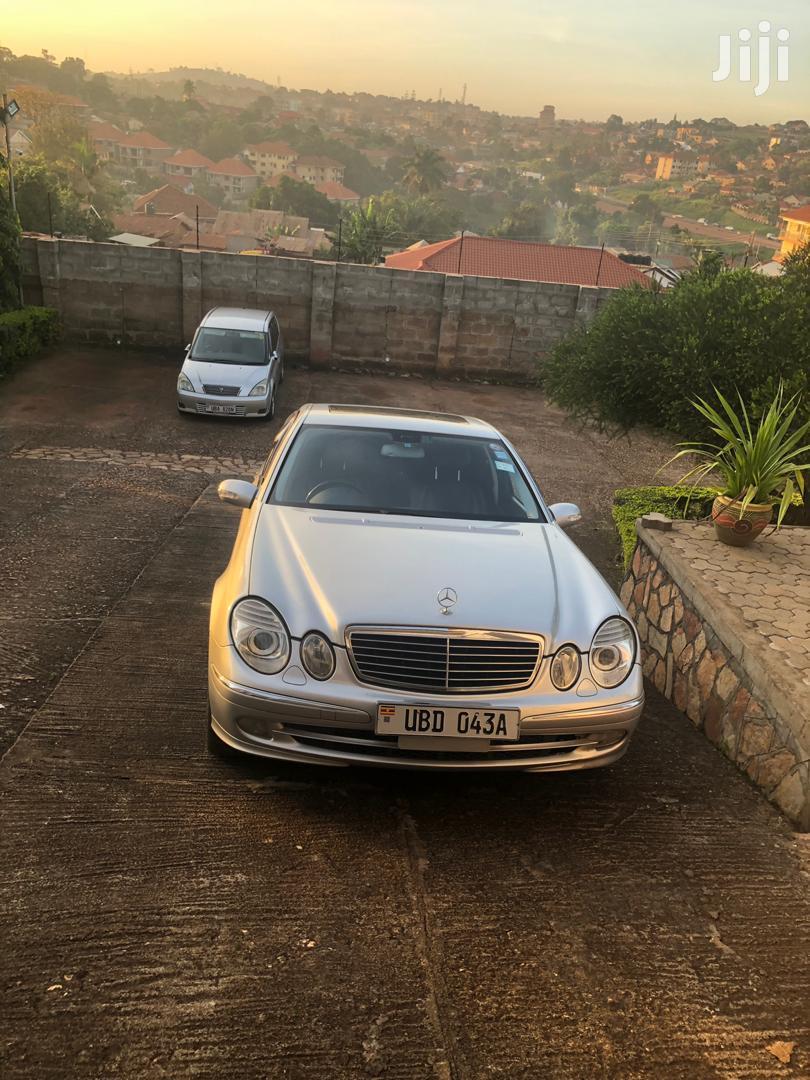 Mercedes-Benz E320 2002 Silver