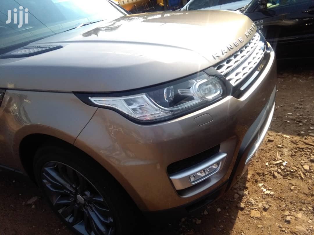 New Land Rover Range Rover Sport 2017 Gold