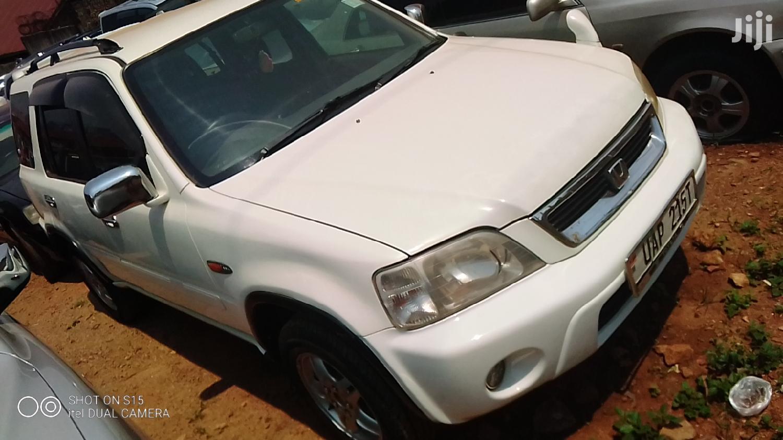 Honda CR-V 2000 2.0 4WD Automatic White | Cars for sale in Kampala, Central Region, Uganda