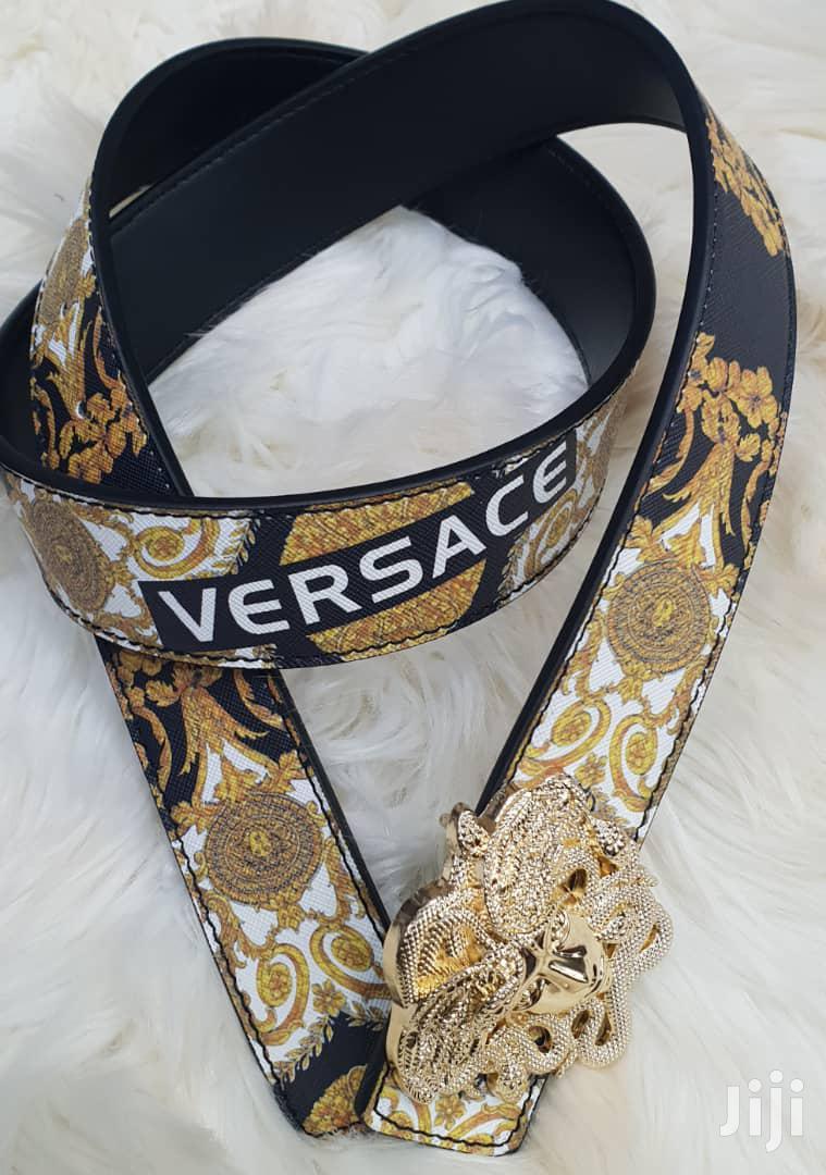 Archive: Versace Belts