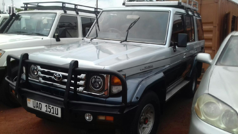 Toyota Land Cruiser Prado 2008 Gray   Cars for sale in Kampala, Central Region, Uganda