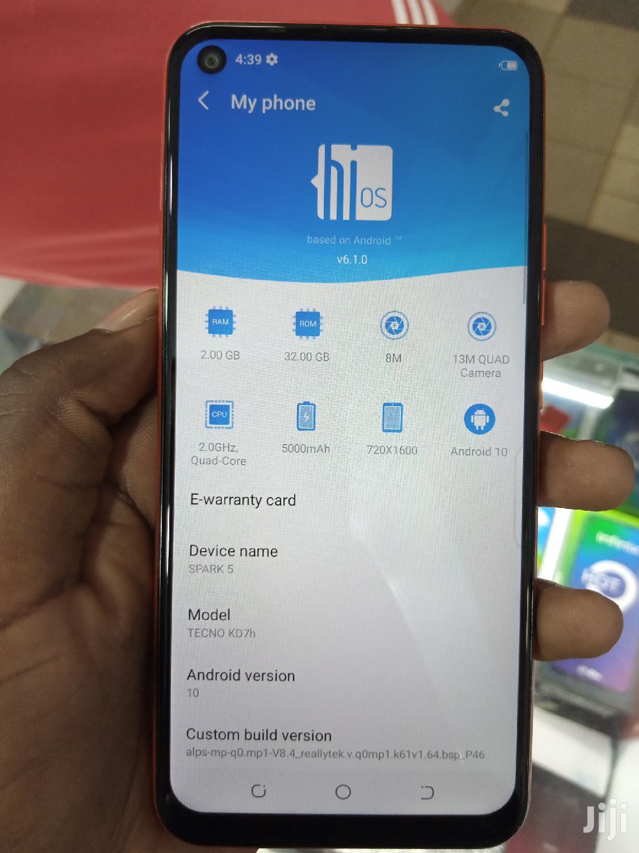 Tecno Spark 5 32 GB   Mobile Phones for sale in Kampala, Central Region, Uganda