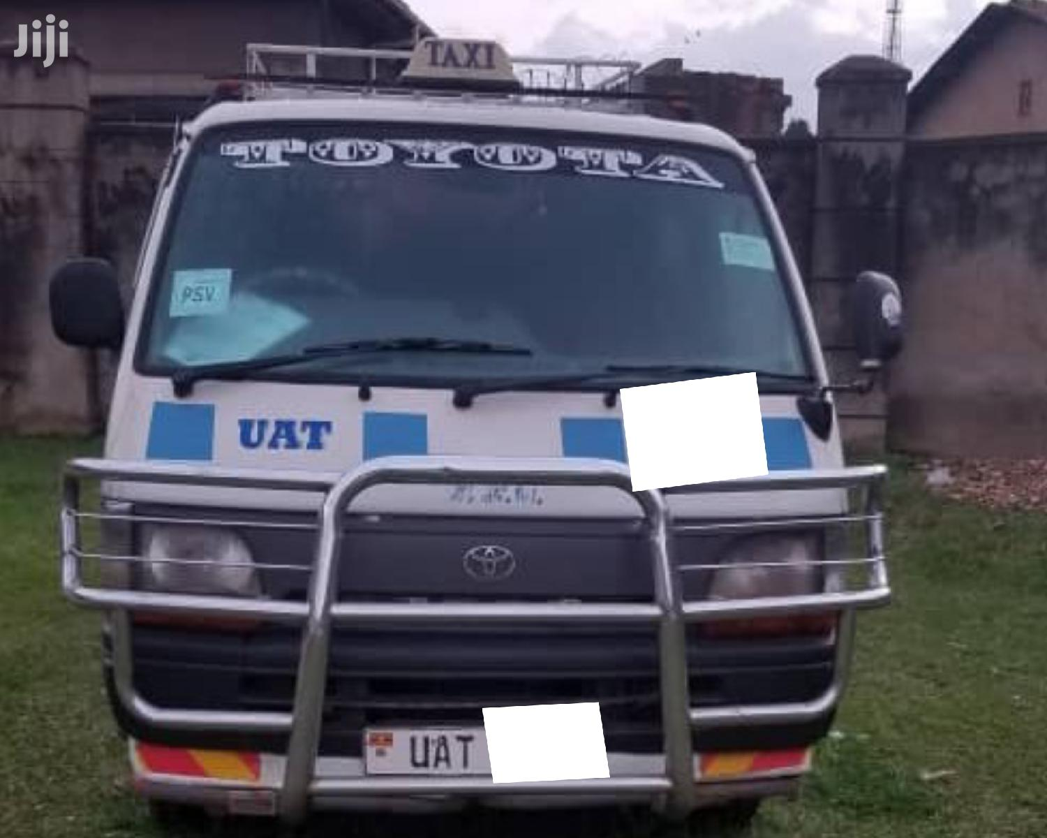 Archive: Taxi For Sale Toyota HiAce