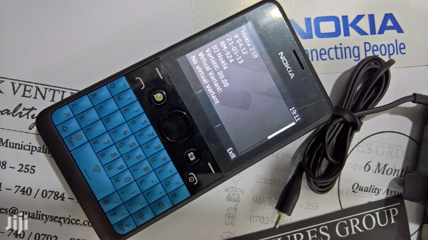 Archive: Nokia Asha 210 Black
