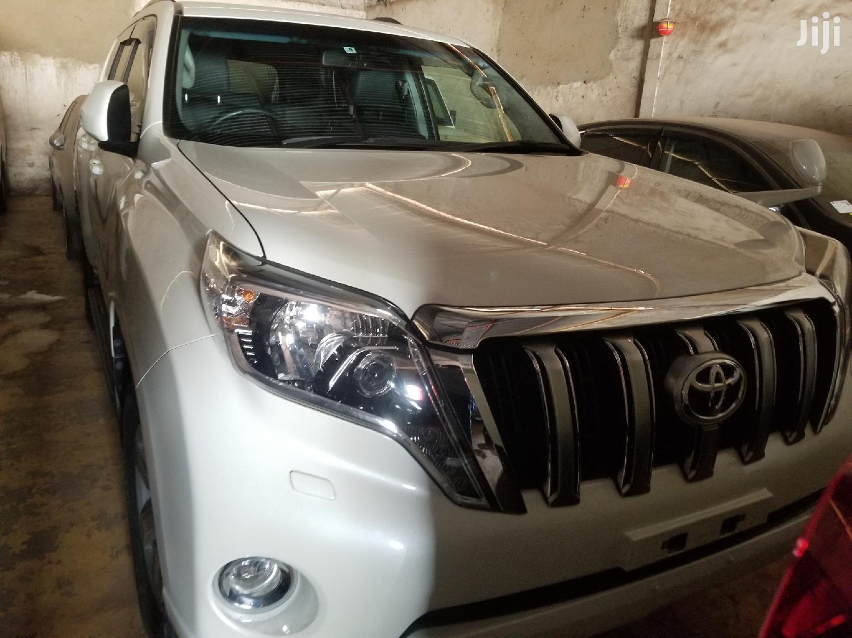 Toyota Land Cruiser Prado 2016 White   Cars for sale in Kampala, Central Region, Uganda