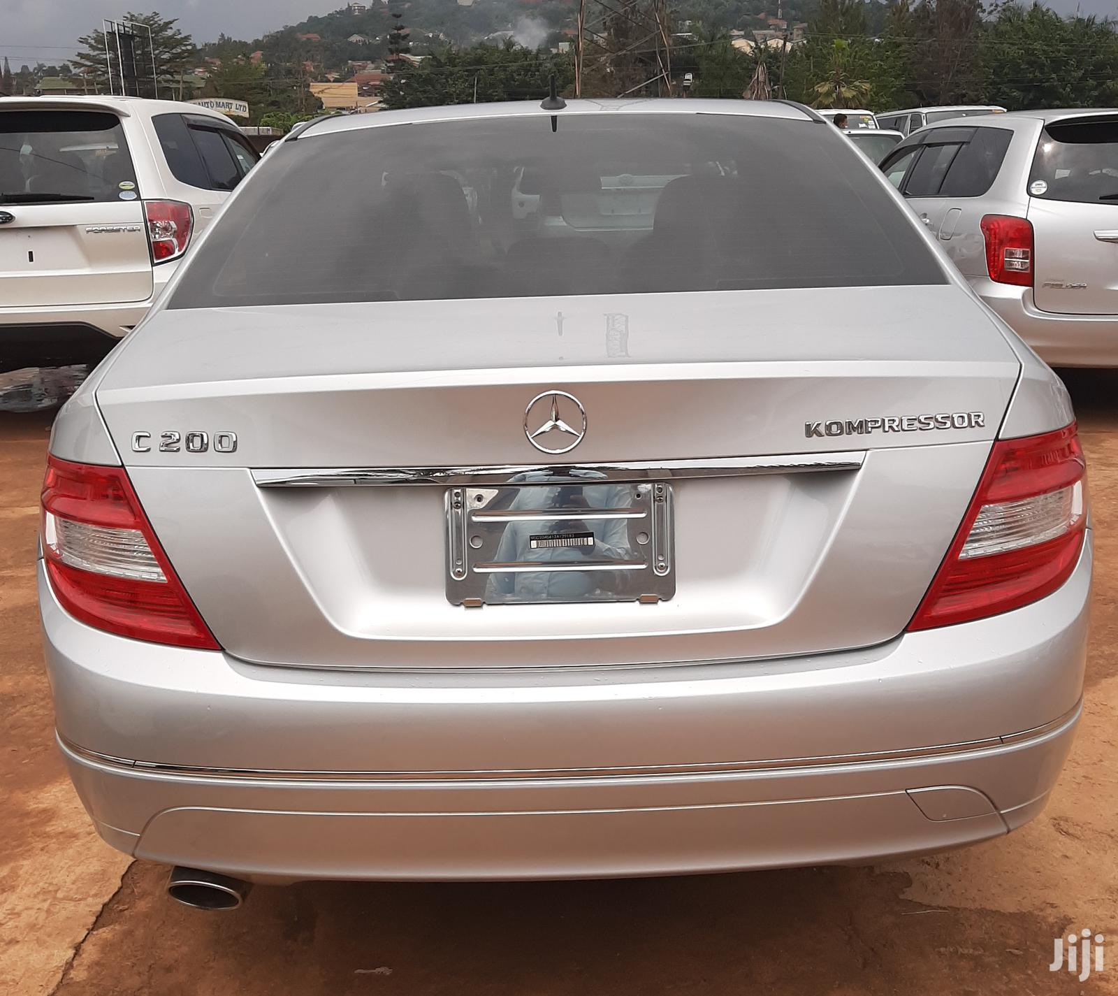 Mercedes-Benz C200 2008 Silver | Cars for sale in Kampala, Central Region, Uganda