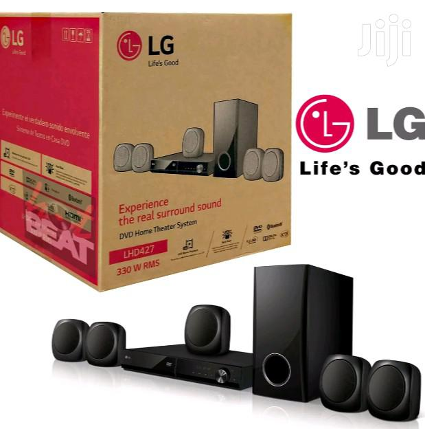 LG LHD427 Bluetooth 5.1-channel DVD Home Theater System
