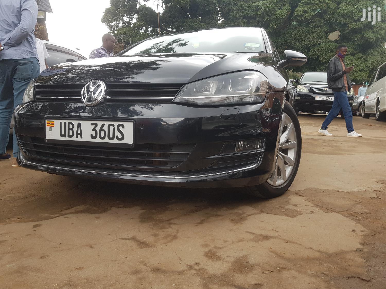 Archive: Volkswagen Golf 2014 Black