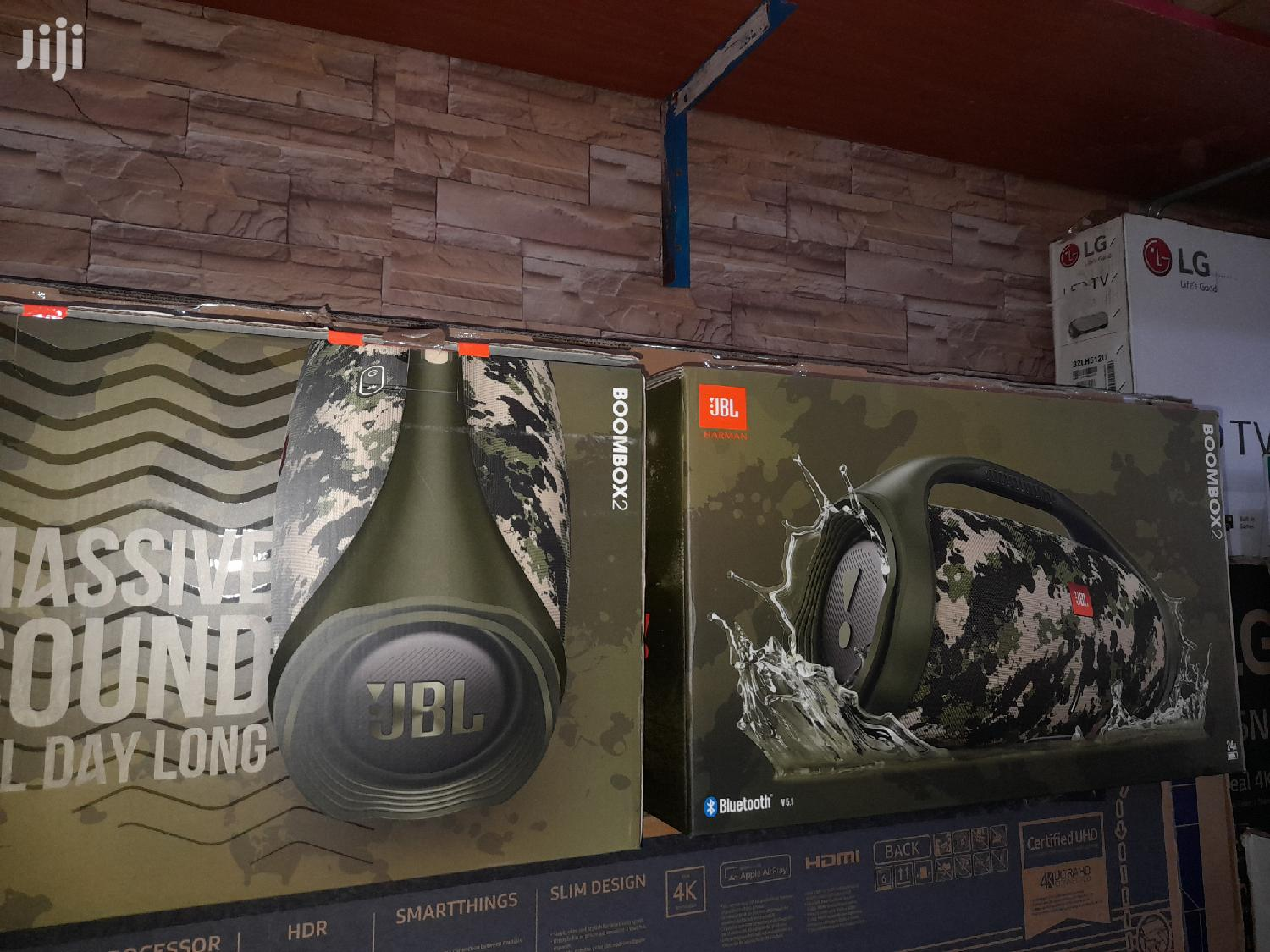 JBL Boombox 2 Camouflage Powerful Wireless Speaker | Audio & Music Equipment for sale in Kampala, Central Region, Uganda