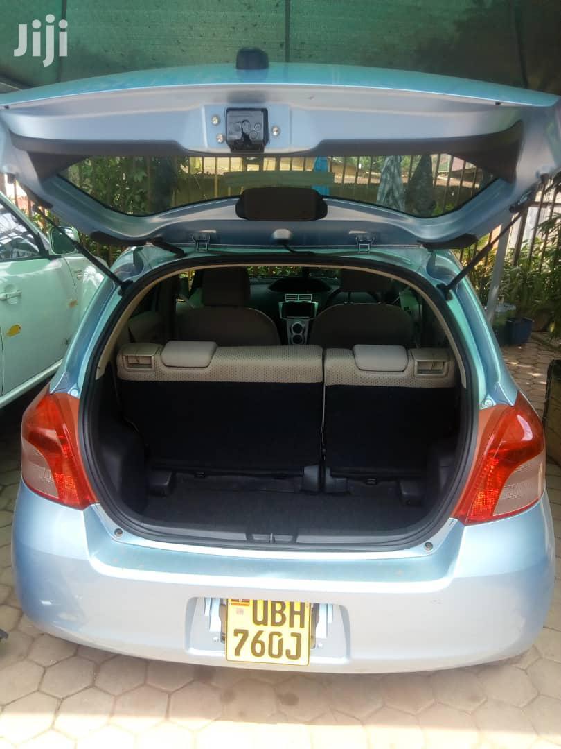 Archive: Toyota Vitz 2006 Blue