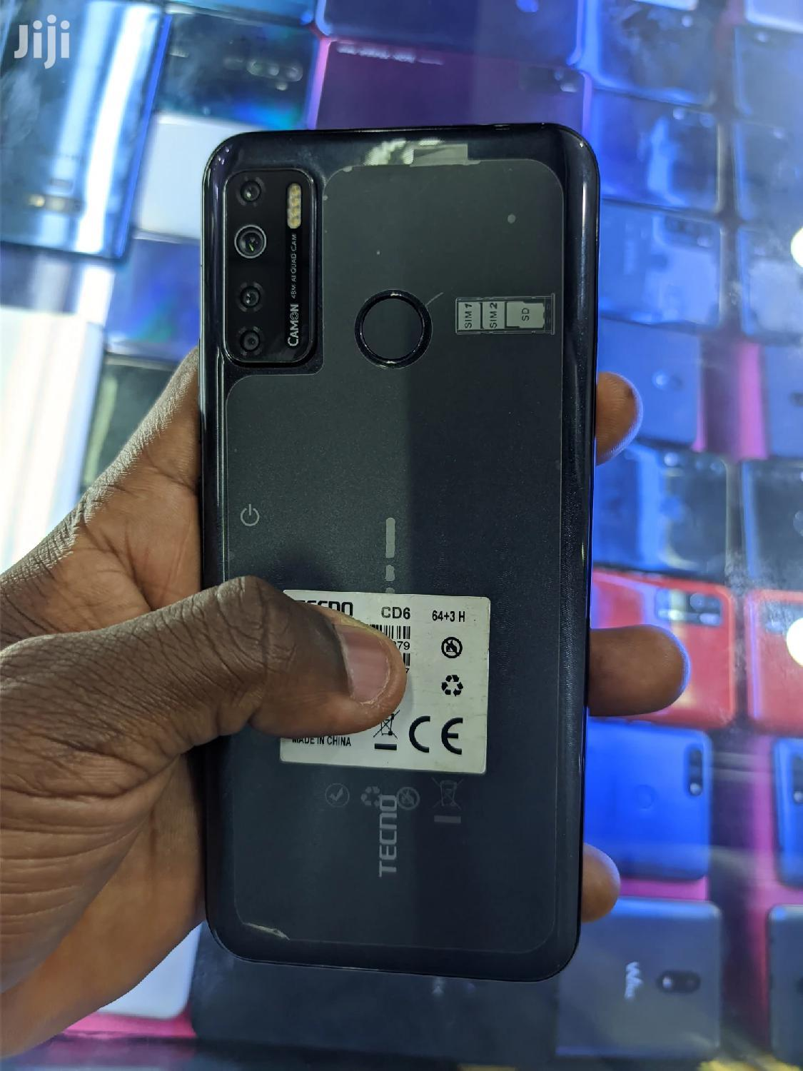 Tecno Camon 15 64 GB Gray