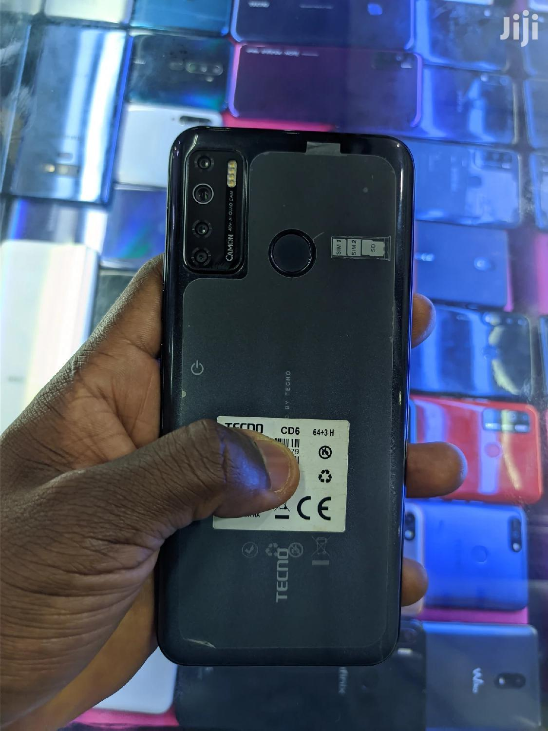 Tecno Camon 15 64 GB Gray | Mobile Phones for sale in Kampala, Central Region, Uganda