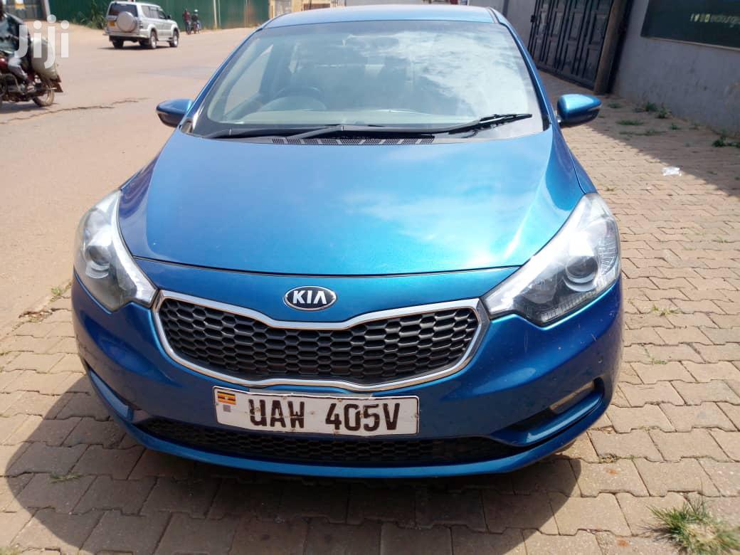Kia Cerato 2014 Blue