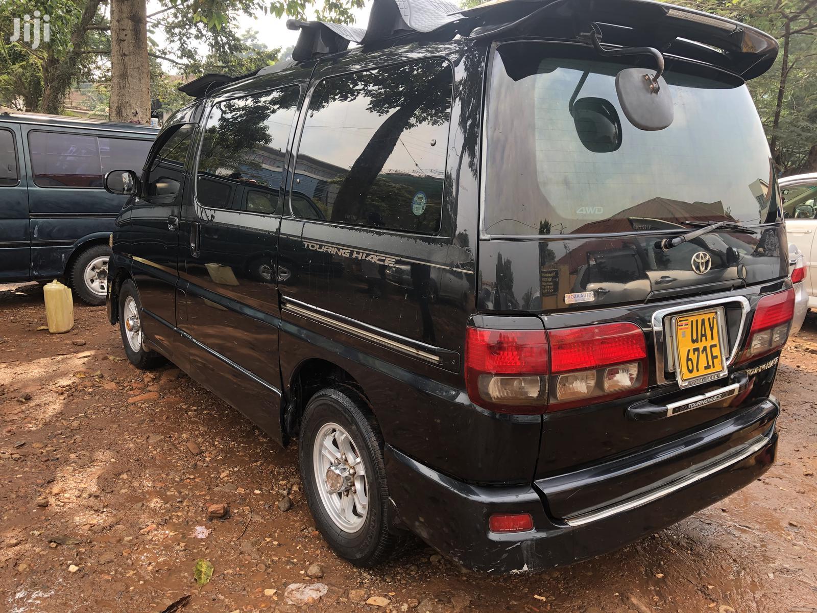 Toyota Regius Van 1998 Black | Cars for sale in Kampala, Central Region, Uganda