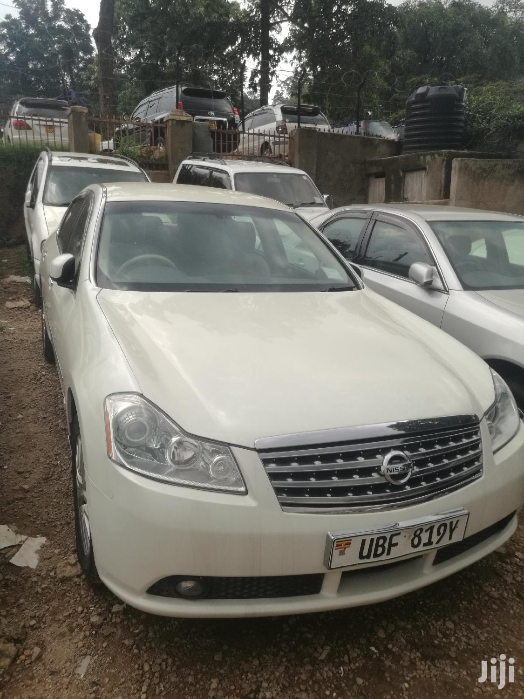 Nissan Fuga 2006 White   Cars for sale in Kampala, Central Region, Uganda