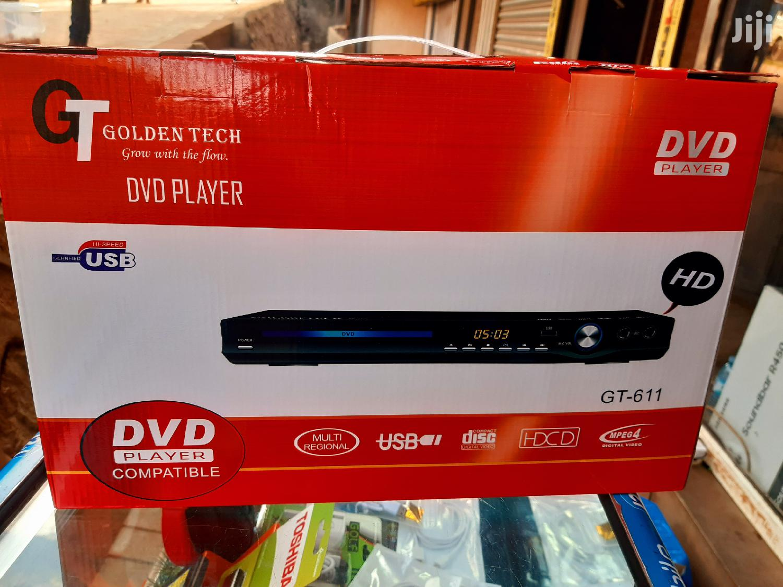 Original HDMI Goldentech DVD Player   TV & DVD Equipment for sale in Kampala, Central Region, Uganda