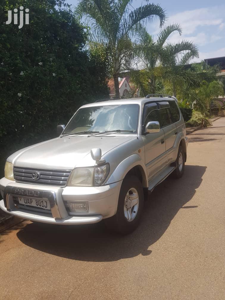 Archive: Toyota Land Cruiser Prado 1998 Gray