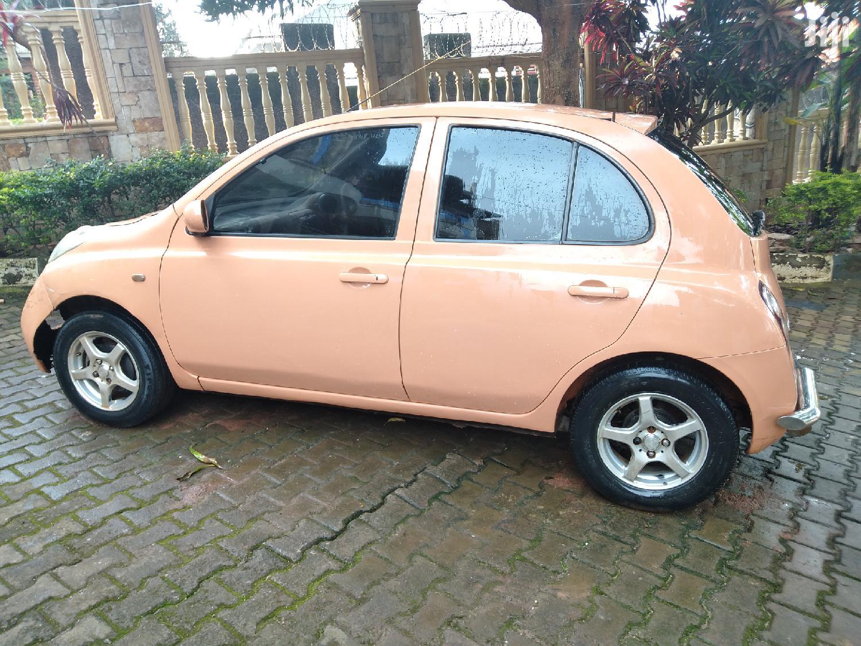 Archive: Nissan March 2002 Orange