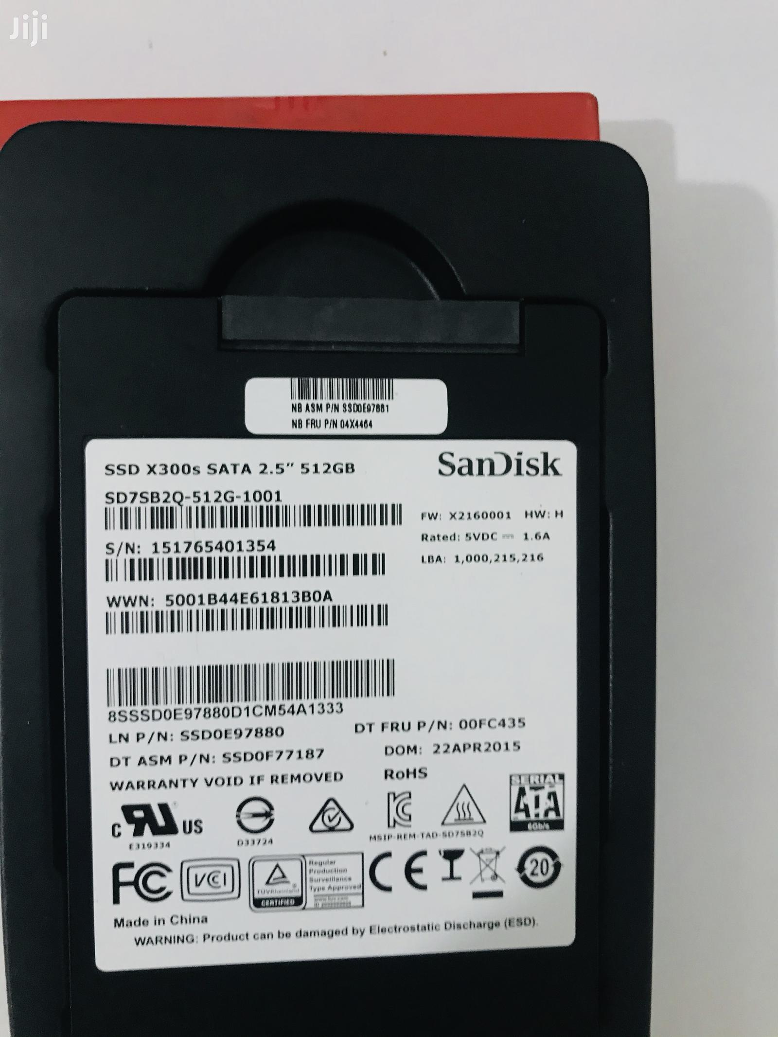 SSD Hard Disks In All Sizes