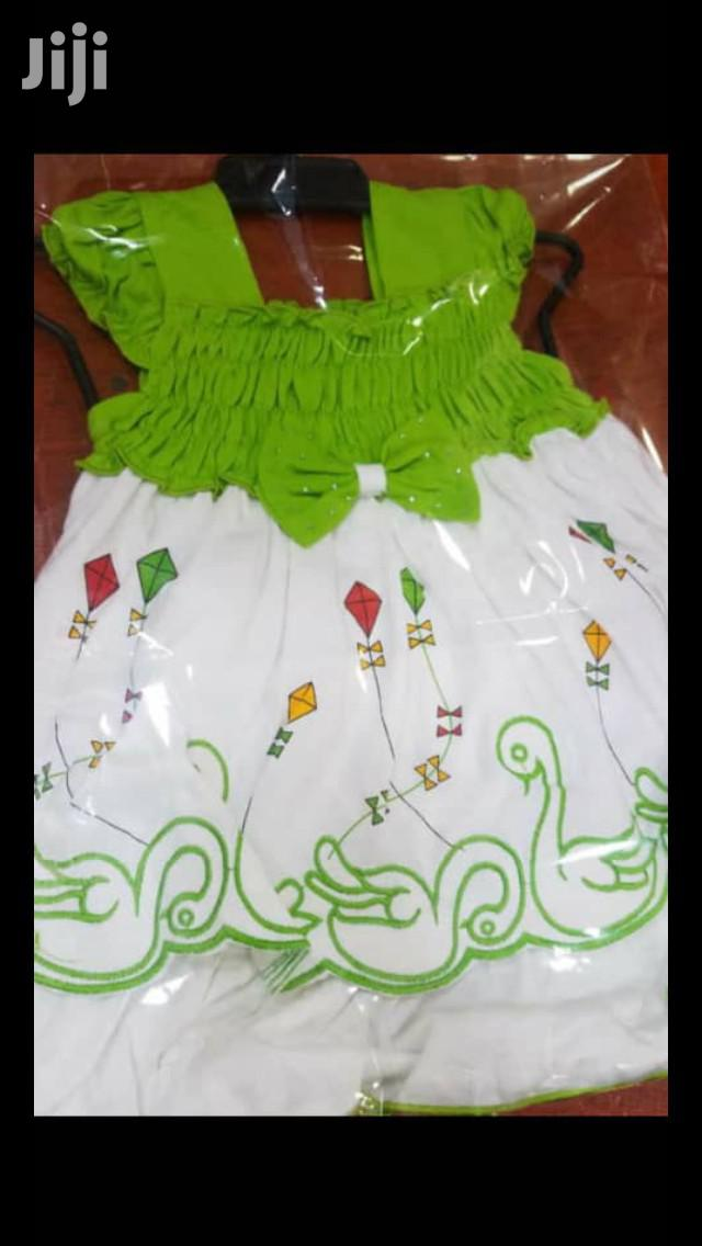 Baby Girl Cotton Dress.