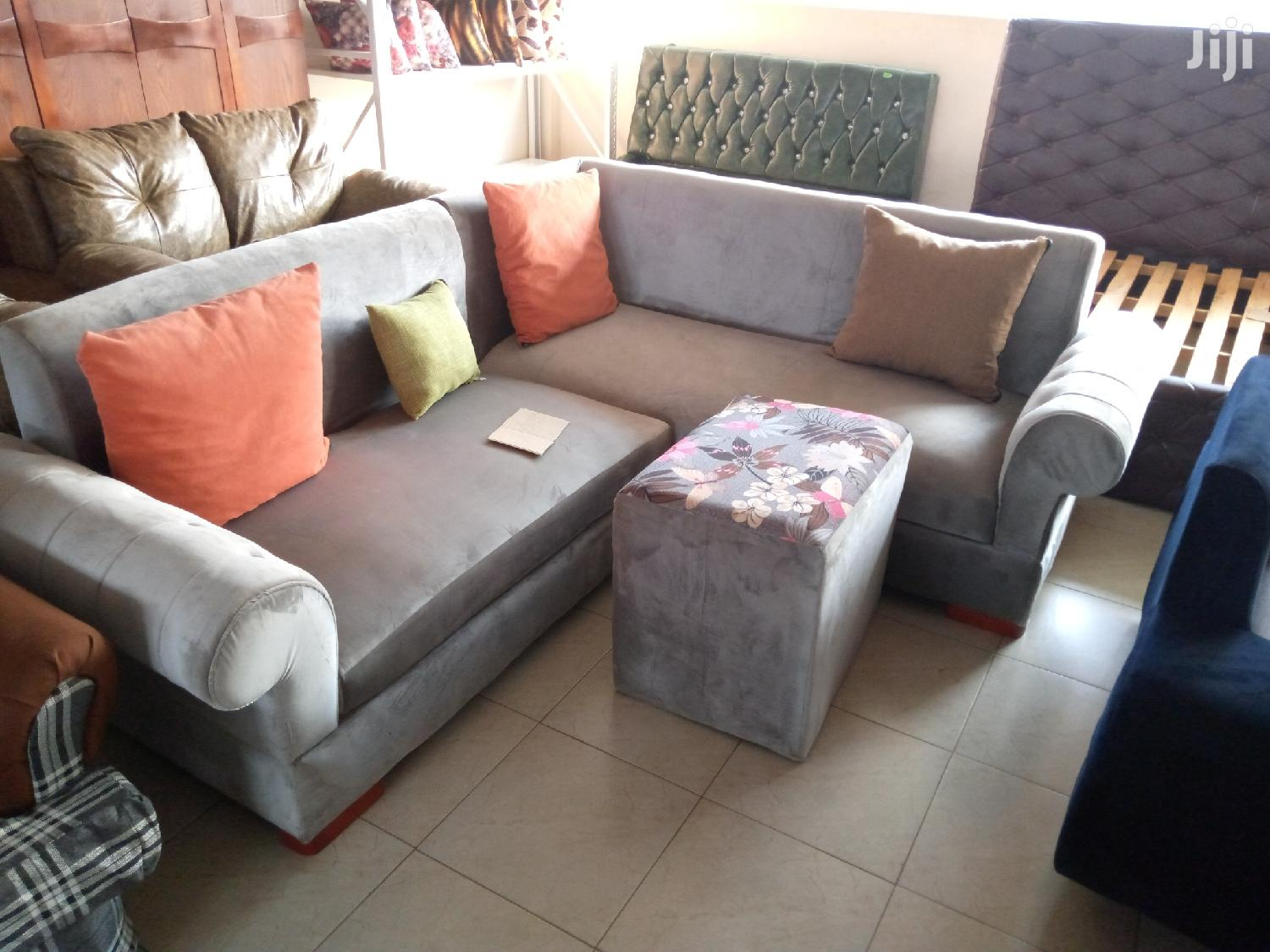 Picture of: P Arm Rest Min L Sofa In Grey With Otto Center Table In Kampala Furniture Alendander Alex Jiji Ug For Sale In Kampala Buy Furniture From Alendander Alex On Jiji Ug