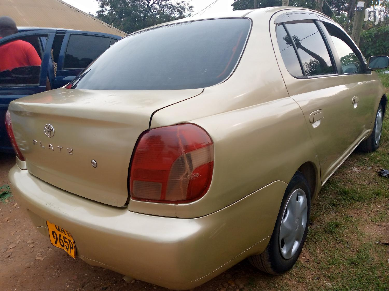 Toyota Platz 2001 Gold | Cars for sale in Kampala, Central Region, Uganda