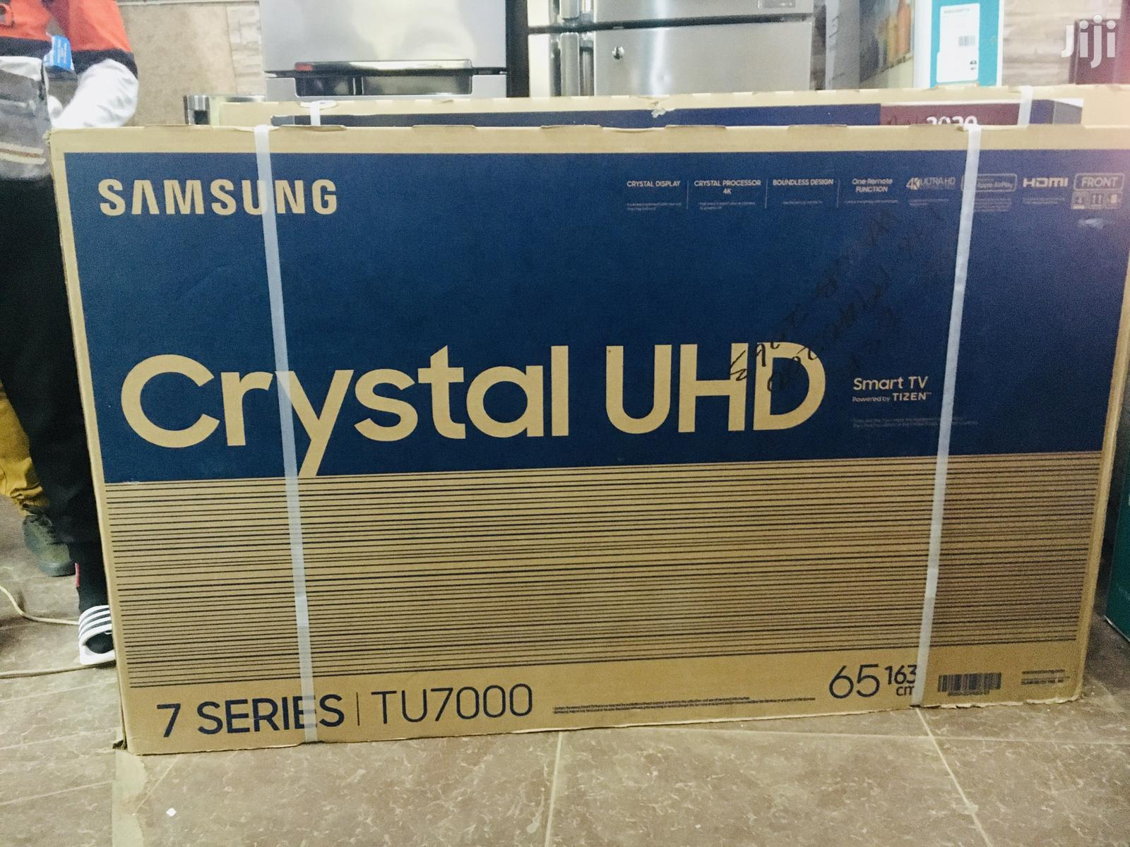 Samsung 65 Inch Crystal UHD 4K TV | TV & DVD Equipment for sale in Kampala, Central Region, Uganda