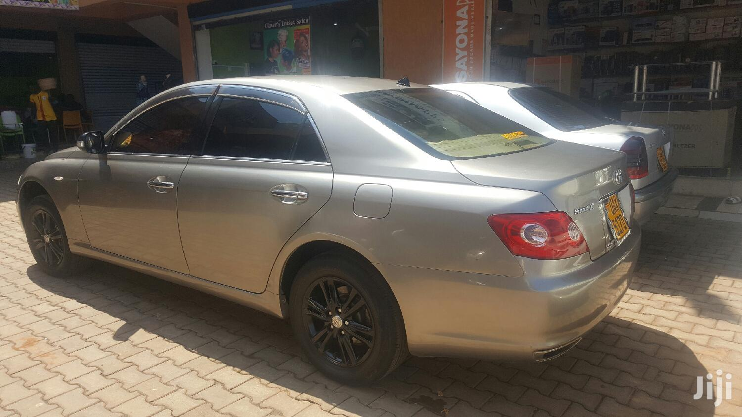 Archive: Toyota Mark X 2006 Silver