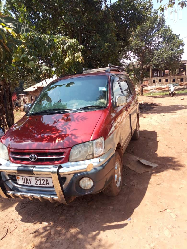 Archive: Toyota Noah 1998 Red
