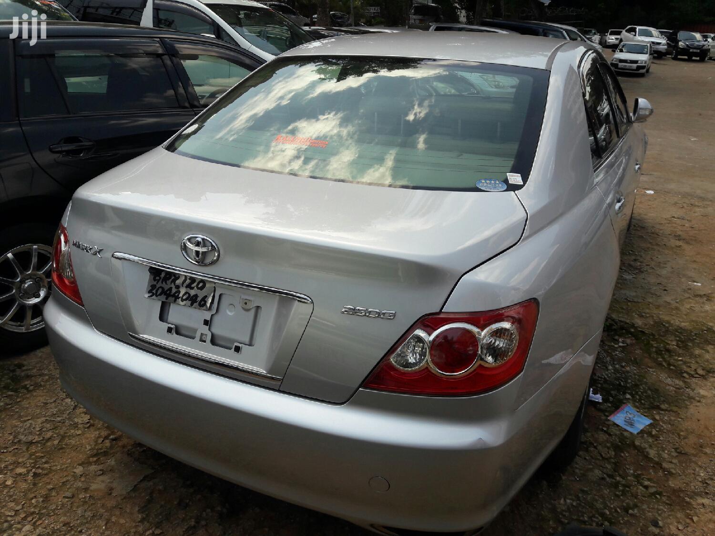 Toyota Mark X 2007 Silver