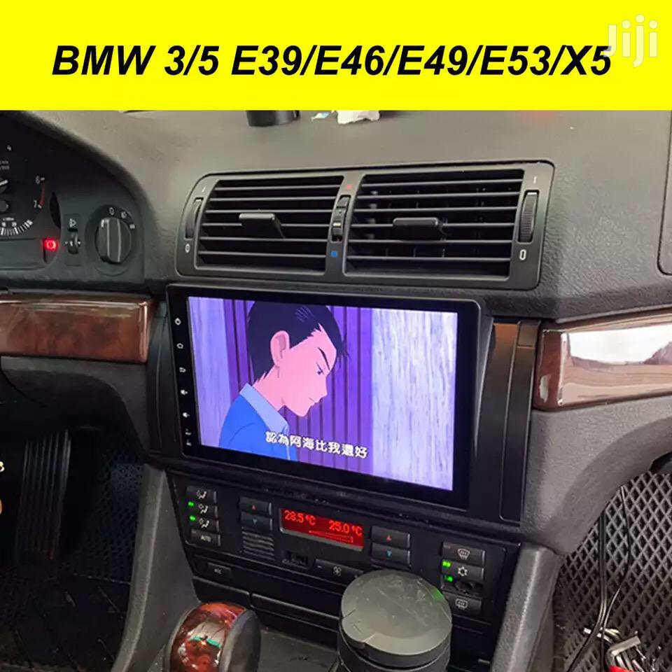 BMW 3/5 E39 E46 E49 E53/X5 Android Navigation Radio   Vehicle Parts & Accessories for sale in Kampala, Central Region, Uganda