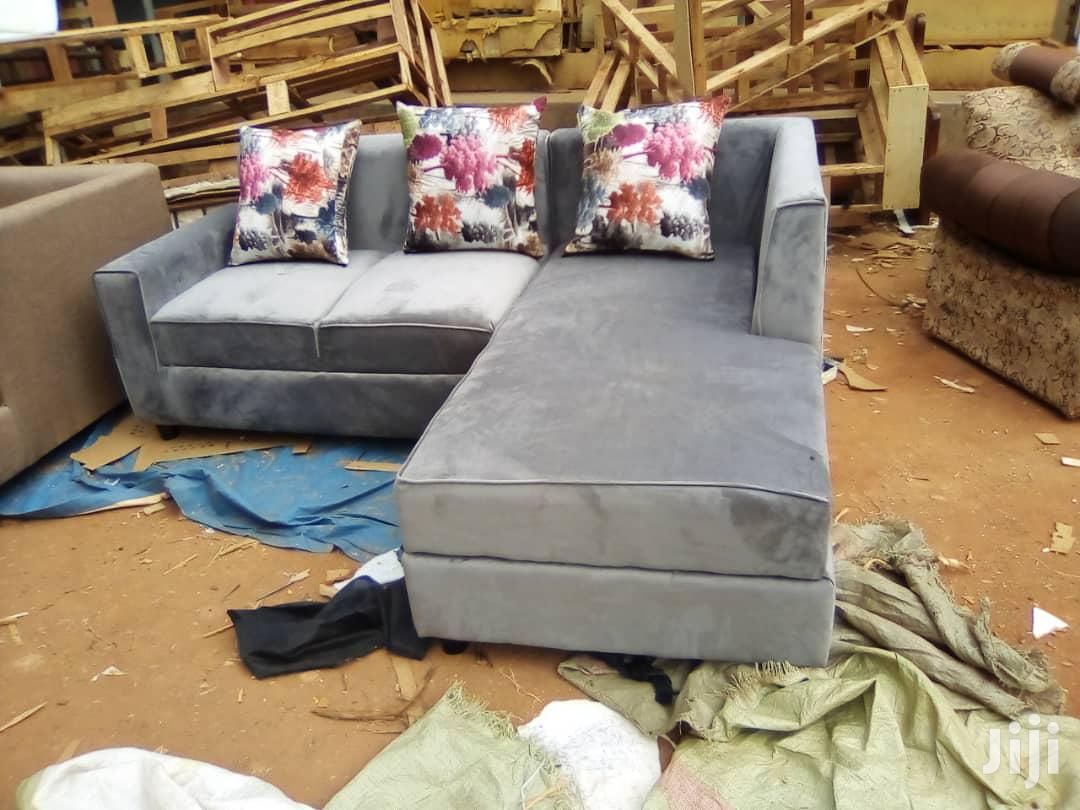 A 5 Seater L Shaped Sofa