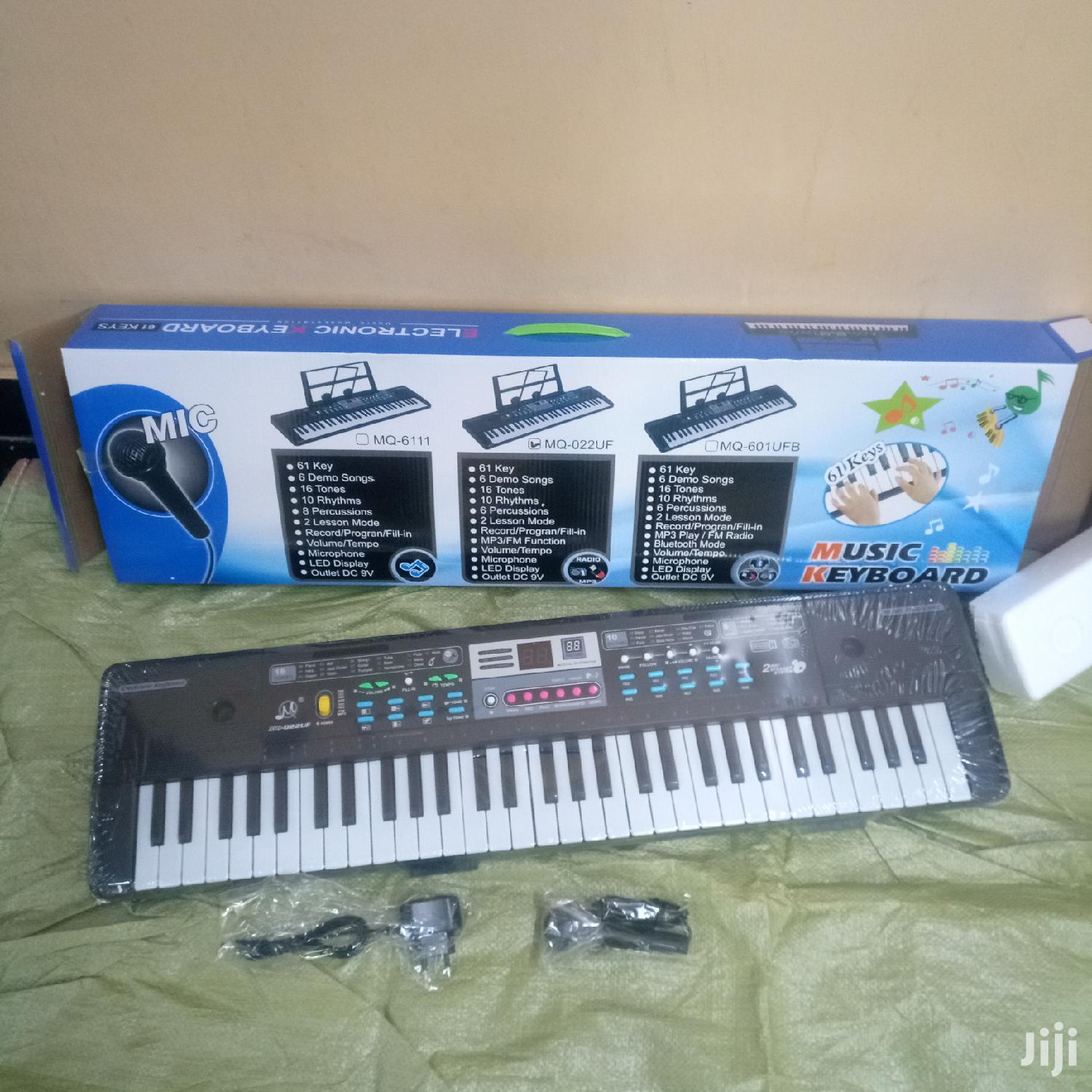 Kids 61 Keys Electronic Keyboard (3in1)