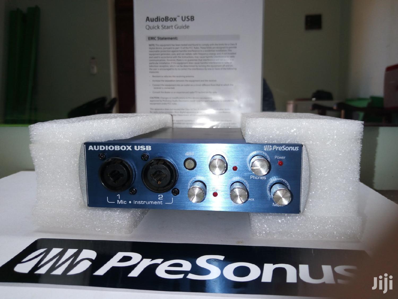 Archive: Presonus Audiobox USB: 2x2 USB Recording System