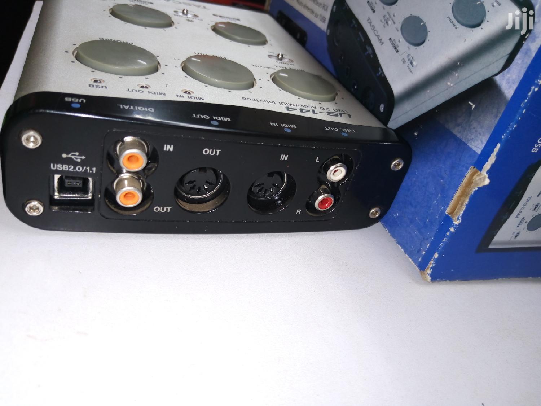 Archive: Tascam US-144 USB Audio MIDI Interface