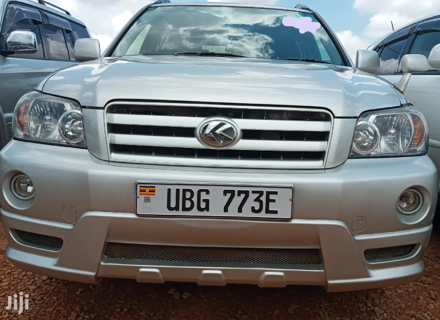 Toyota Kluger 2006 Silver