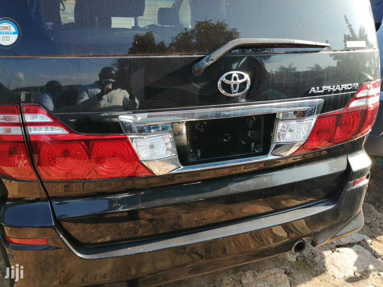 Toyota Alphard 2007 Black | Cars for sale in Kampala, Central Region, Uganda