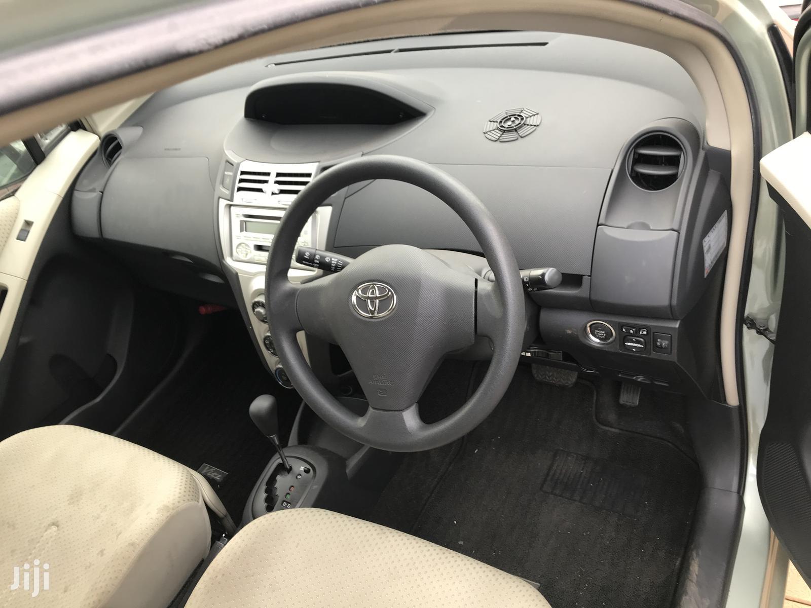 Archive: Toyota Vitz 2007 Gray