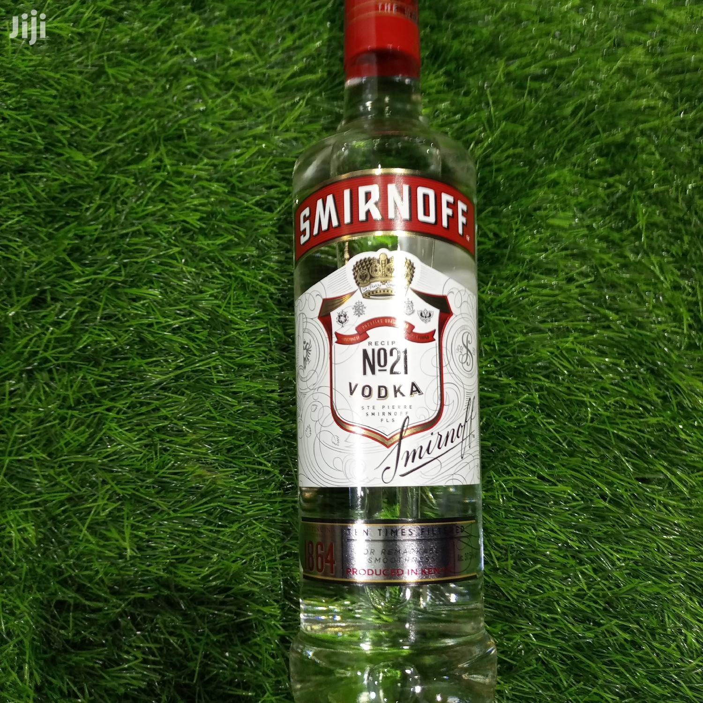 Archive: Smirnoff Vodka 750ml