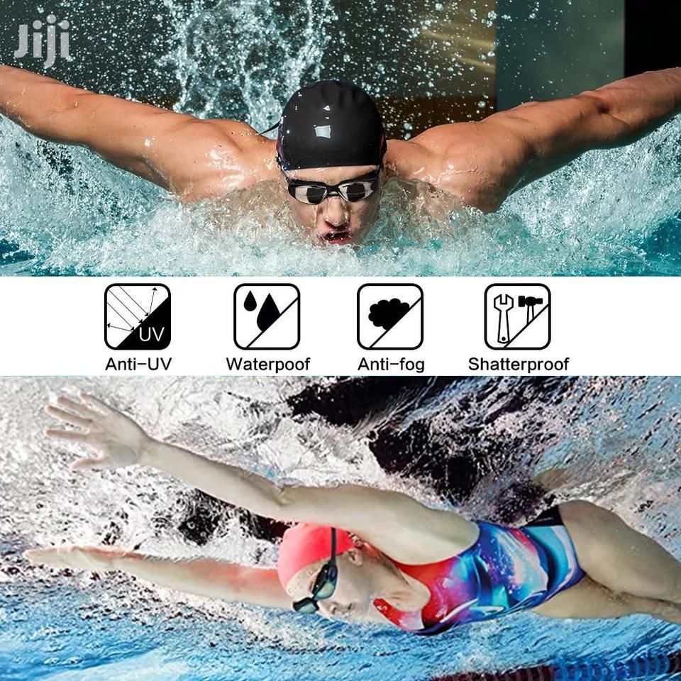 Waterproof UV Swim Diving Water Goggles Eyewear Protection.