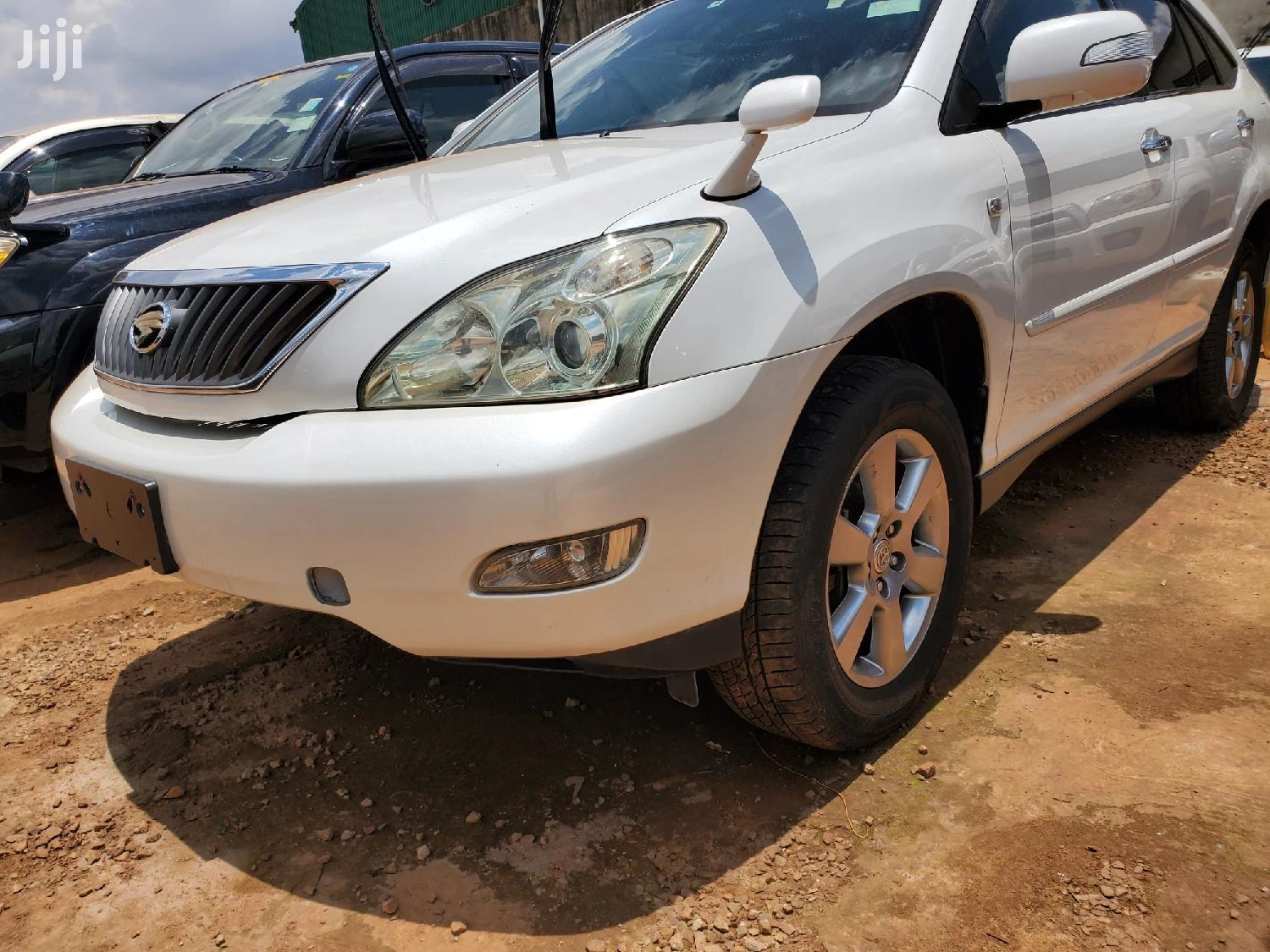 Toyota Harrier 2009 White | Cars for sale in Kampala, Central Region, Uganda
